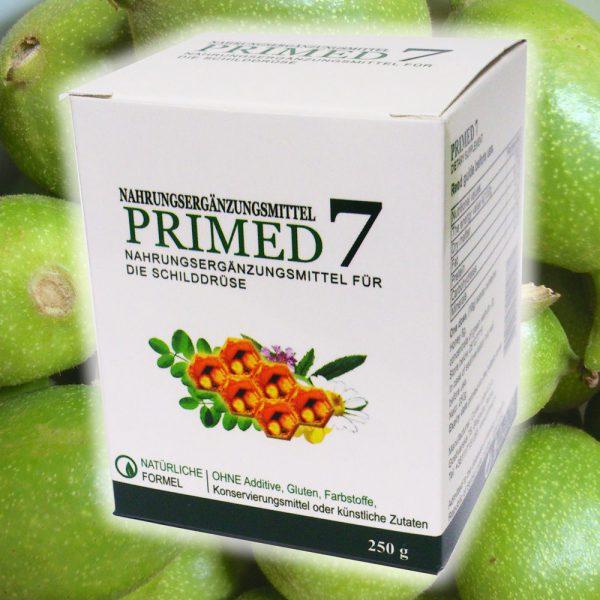 PRIMED 7 gegen Jodmangel und Schilddrüsenfunktionsstörungen