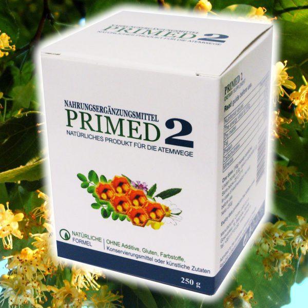 PRIMED 2 Respiromed Honig für die Atemwege